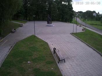 Парк Покровский, памятник родителям Сергия Радонежского