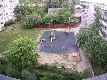 ул. Октябрьская 8, детская площадка