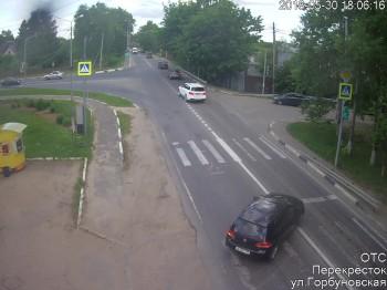 Перекресток ул.Горбуновская
