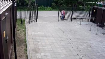 БР - ул. 2-я Рабочая, боковой вход в парк
