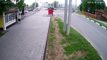 Пешеходная зона, Ж/д вокзал