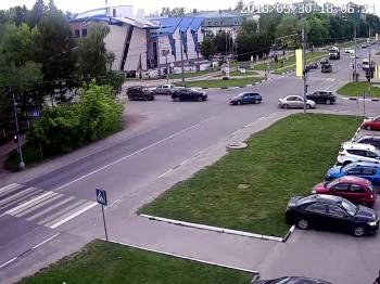 Перекрёсток, светофор