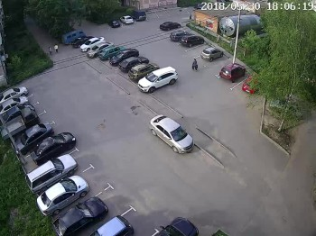 ул. 2-я Рабочая 34, двор