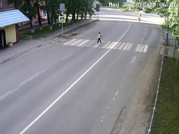 Пешеходный переход у школы №3