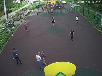 ул. 2-я Рабочая, детская площадка 1
