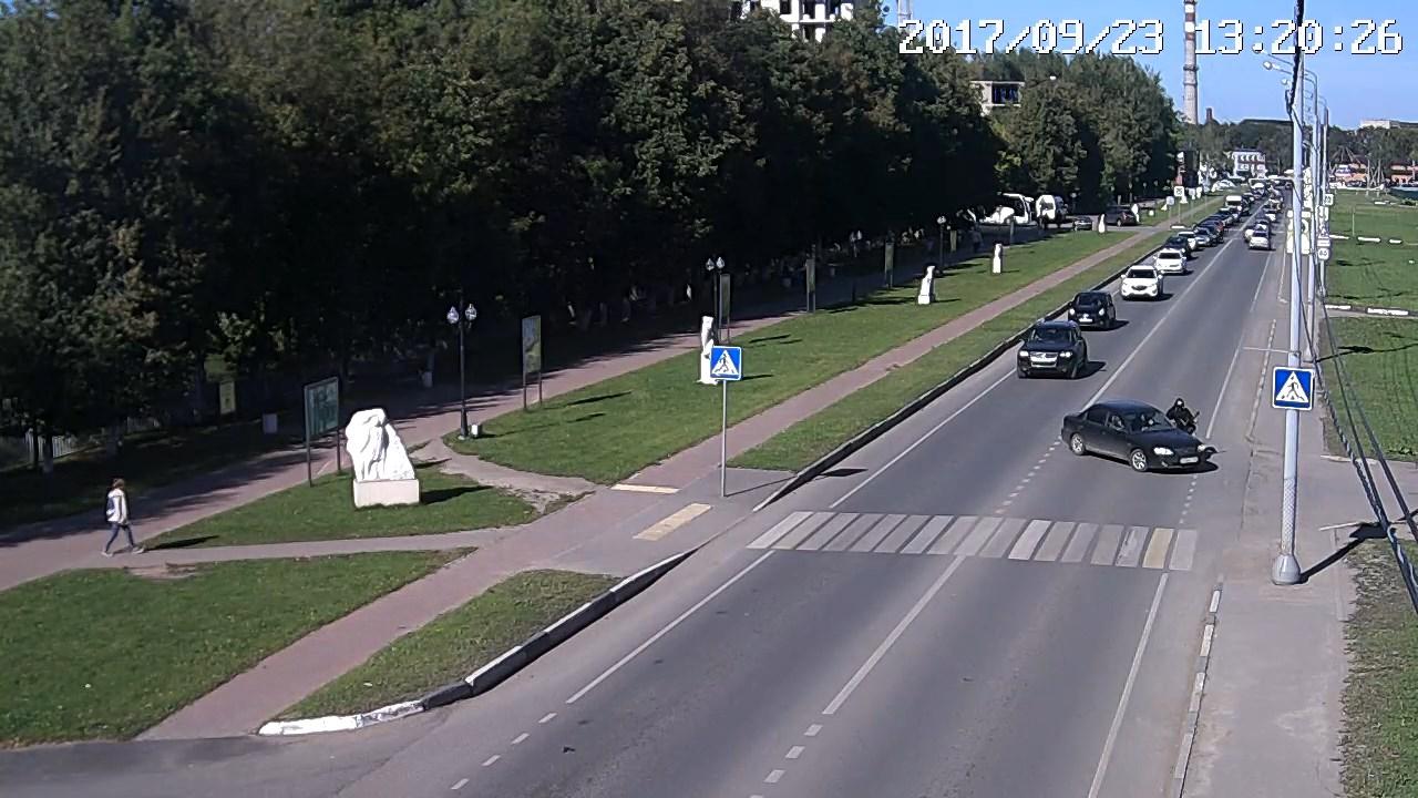 Сбили мотоциклиста в Хотьково