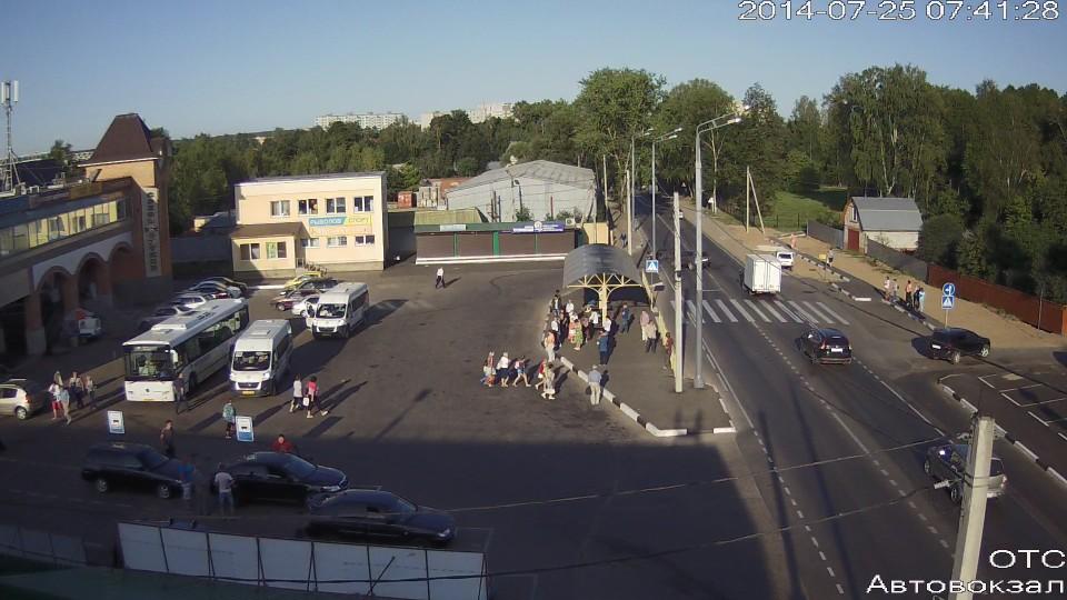 ДТП с мотоциклом около Автовокзала