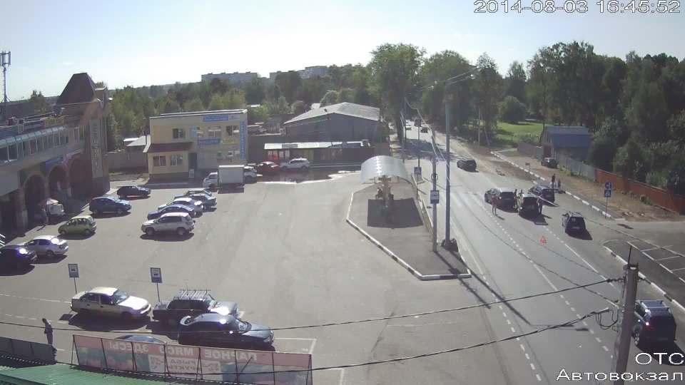 ДТП около пешеходного перехода