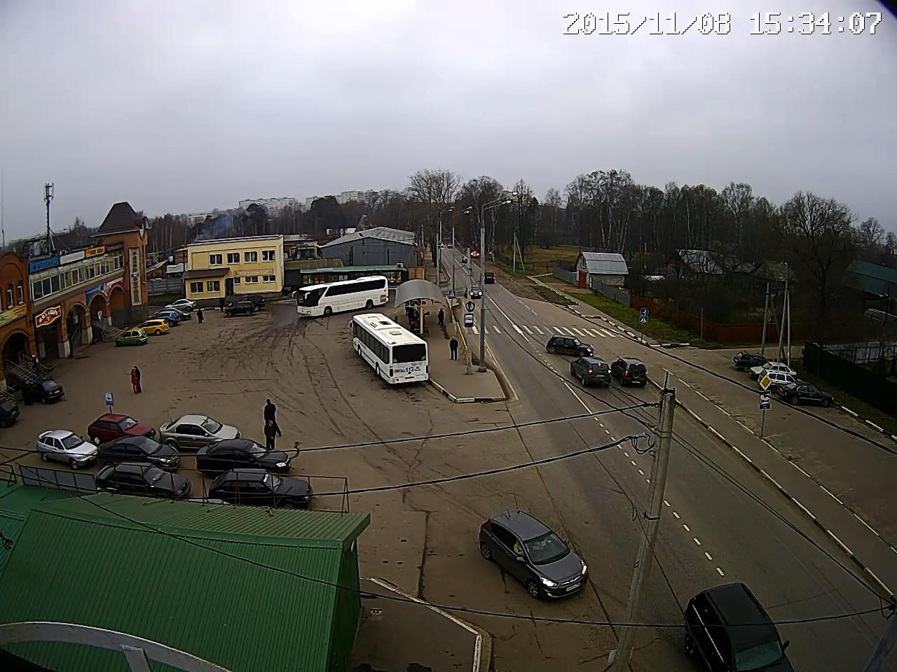 Авария около автовокзала