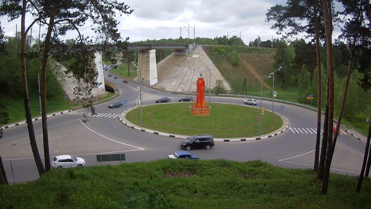Хамское поведение на дороге в Хотьково