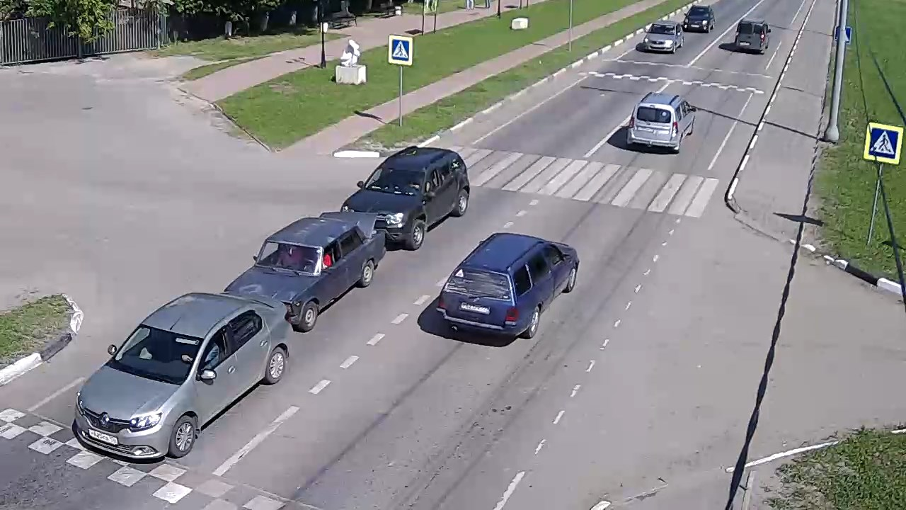 Авария напротив Олимпа