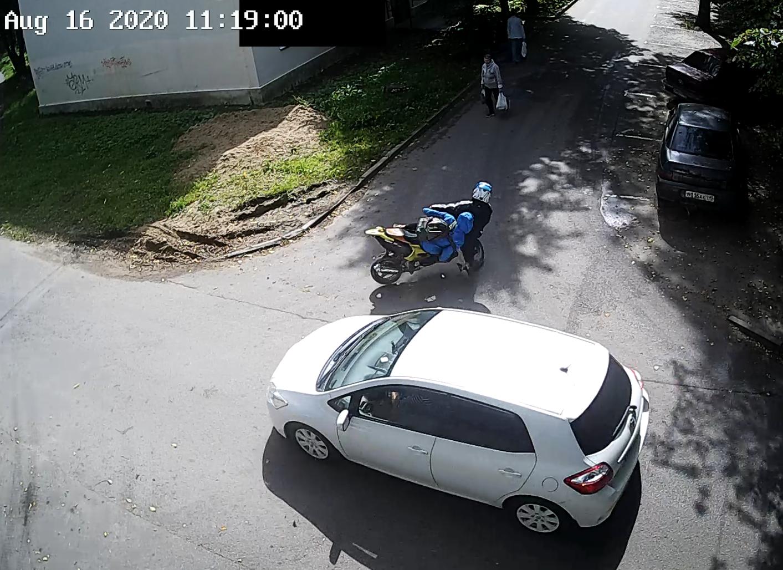 Сбили мотоциклиста на Горжевицкой 8