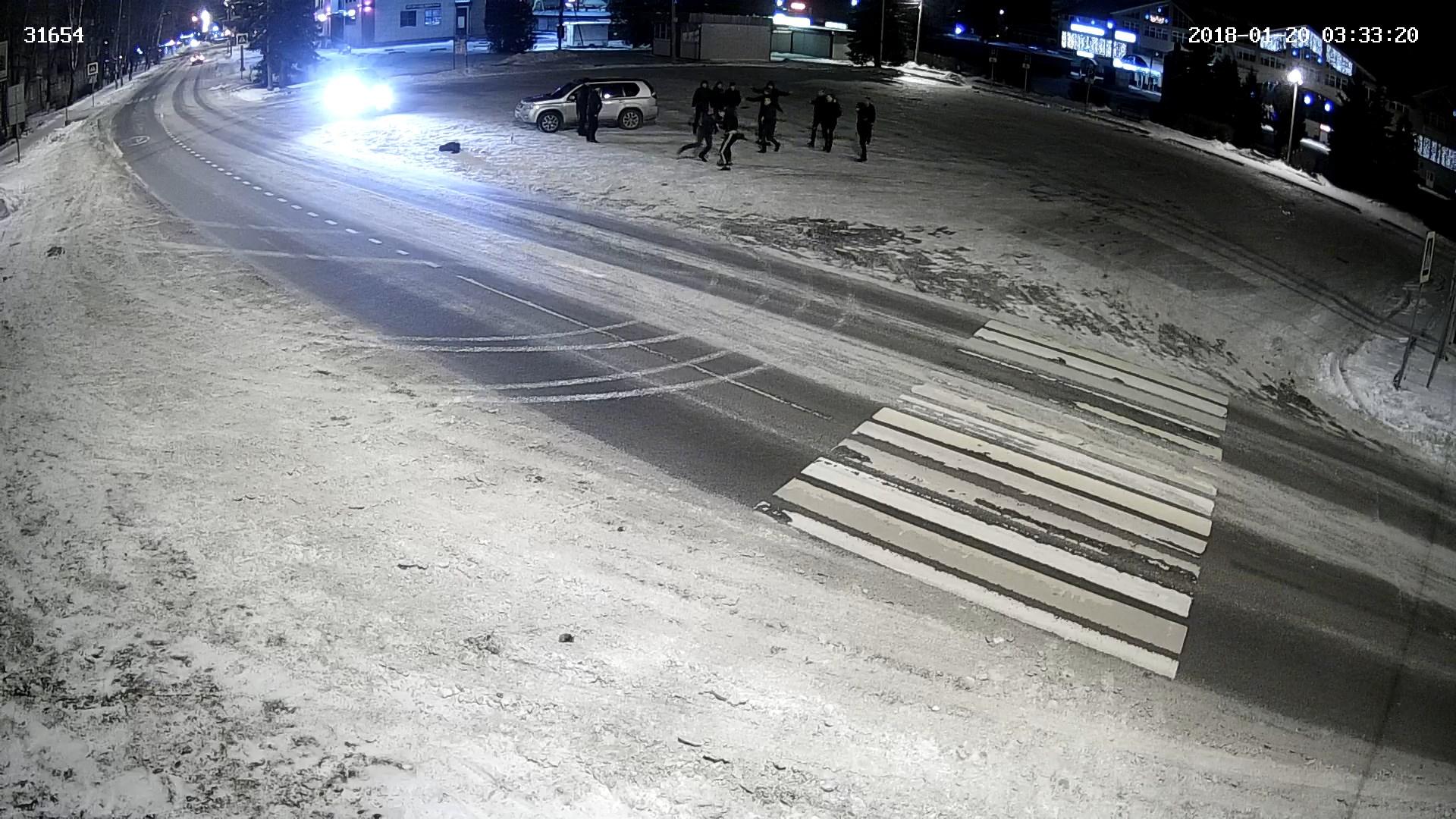 Поножовщина на главной площади