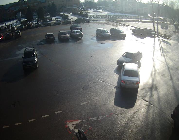 ДТП на главной площади